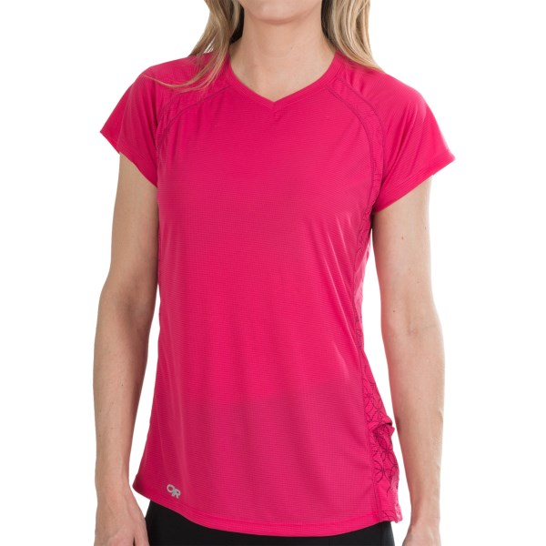 Outdoor Research Echo Graphic T-shirt - Upf 15, Short Sleeve (for Women)