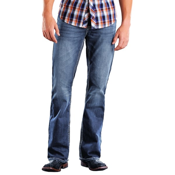 Rock and Roll Cowboy Double Barrel Jeans (For Men)