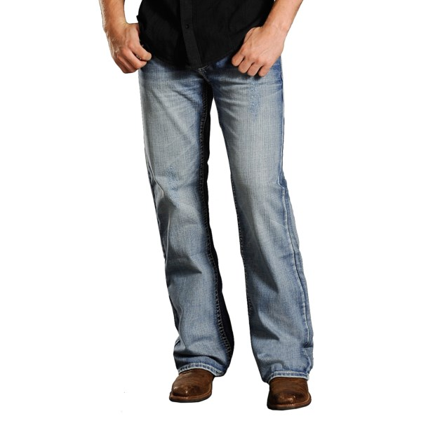 Rock And Roll Cowboy Cannon Abstract Jeans - Loose Fit (for Men)