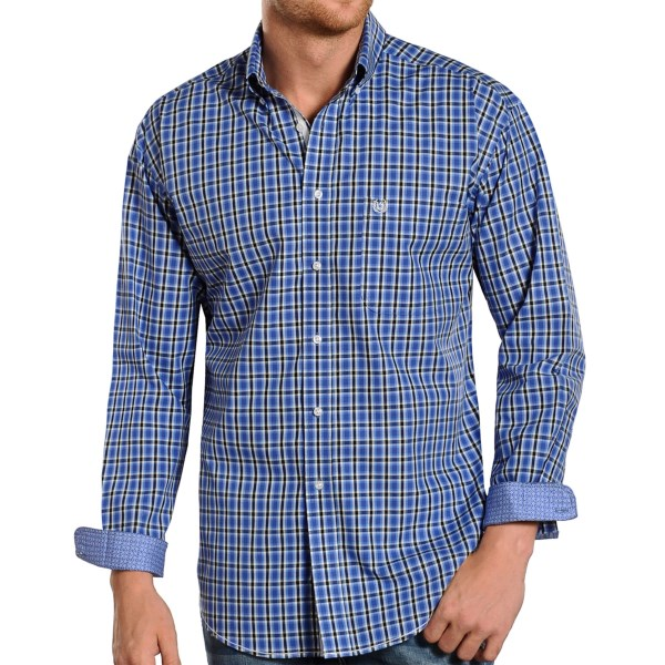 Rough Stock By Panhandle Slim Port Royal Check Shirt - Long Sleeve (for Men)
