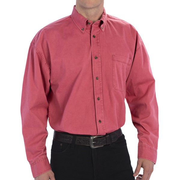 Panhandle Slim Stonewashed Shirt - Button Front, Long Sleeve (for Men)