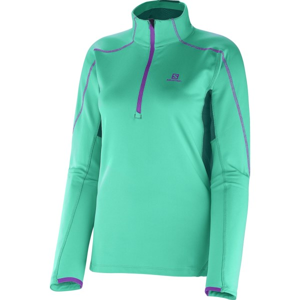 Salomon Discovery 2 Fleece Pullover - Zip Neck, Long Sleeve (For Women)