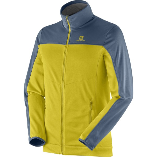 CLOSEOUTS . Ready for the trail or a day on the town seeking the perfect espresso, Salomonand#39;s Cruz jacket features a durable, insulating fabric for breathable warmth, zip hand pockets and a regular fit for comfortable, everyday wear. Available Colors: DARK CLOUD/BLACK, DUSTY SUN-X/BLEU GRIS, SHADOW GREY/BUD GREEN, UNION BLUE/MIDNIGHT BLUE. Sizes: S, M, XL, 2XL, L.