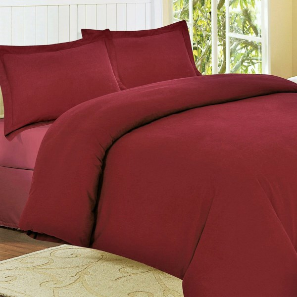 Azores Home Midweight Flannel Duvet Set - King, 170gsm Cotton