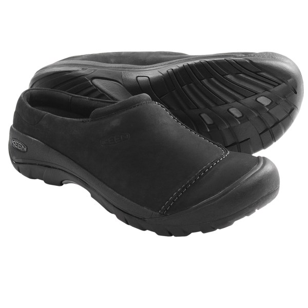 Keen Austin Clogs - Leather (For Men)