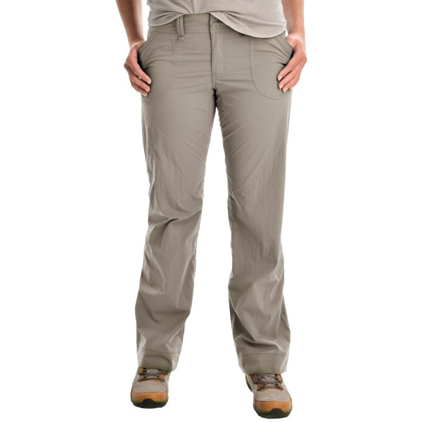 CLOSEOUTS . We know you live for getting on the trail and out into nature, and Arcand#39;teryx Parapet pants share the same sentiment. Lightweight, durable, quick-drying and moisture-wicking fabric keeps you comfortable, and the partial-inseam gusset and articulated knees make sure you get unrestricted full-range of motion -- are you gearing-up yet? Available Colors: BLACK, CARGO GREEN, CHALK STONE, GRAPHITE, HERON. Sizes: 6, 0, 10, 12, 14, 2, 4, 8.