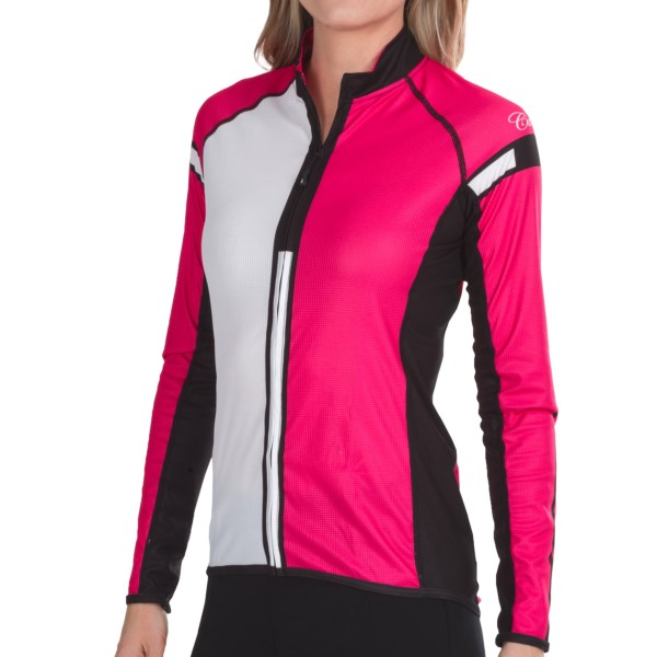 Canari Ferdie Cycling Jersey - Full Zip, Long Sleeve (For Women)