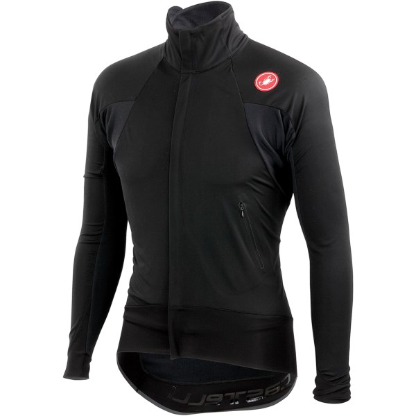 Castelli Alpha Wind Cycling Jersey - Windstopper(R), Full Zip, Long Sleeve (For Men)