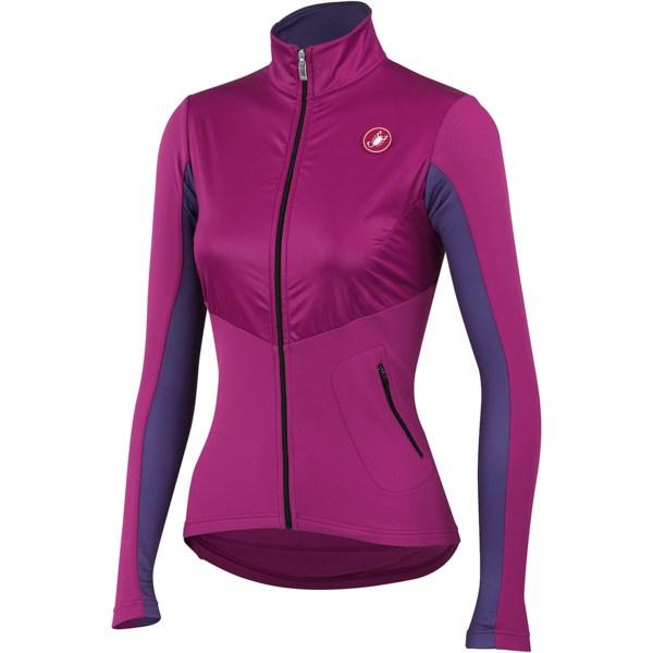 Castelli Illumina Cycling Jersey - Full Zip, Long Sleeve (For Women)