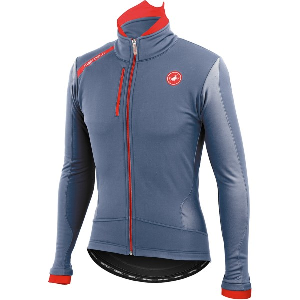 Castelli Senza Cycling Jacket Windstopper(R) (For Men)