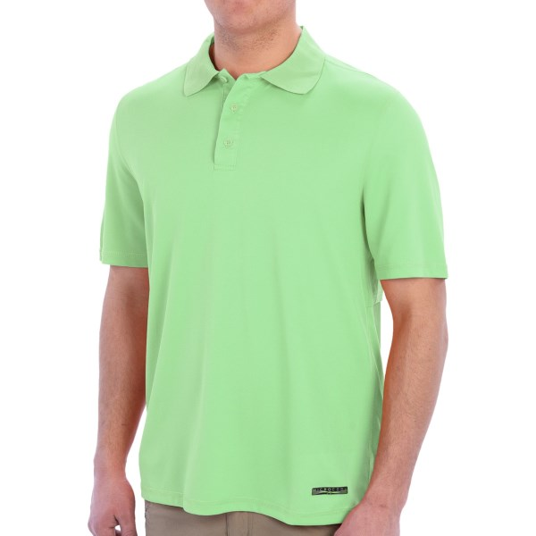 Terramar Microcool Fishing Polo Shirt - Short Sleeve (For Men)