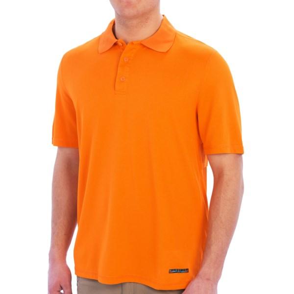 Terramar Microcool Fishing Polo Shirt - Short Sleeve (For Men)