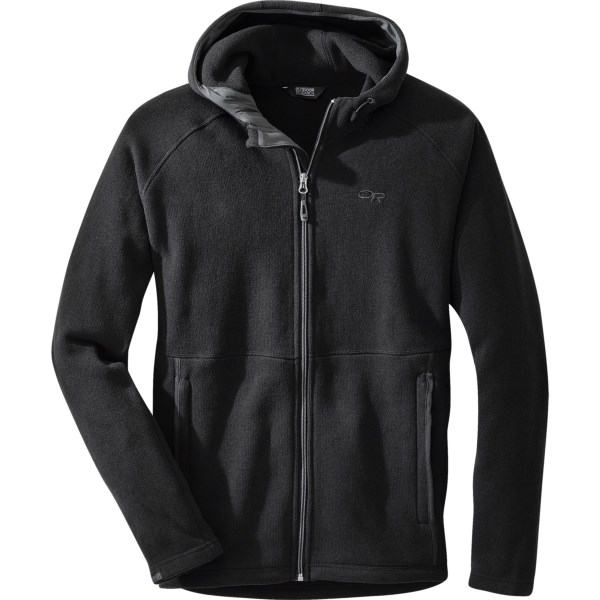 Outdoor Research Longhouse Hooded Fleece Jacket (For Men)