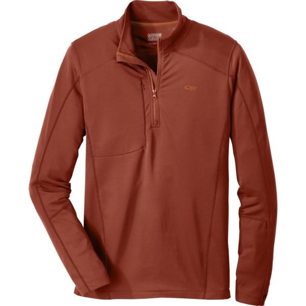 Outdoor Research Delta Zip Shirt - Dri-release(r), Freshguard(r), Long Sleeve (for Men)