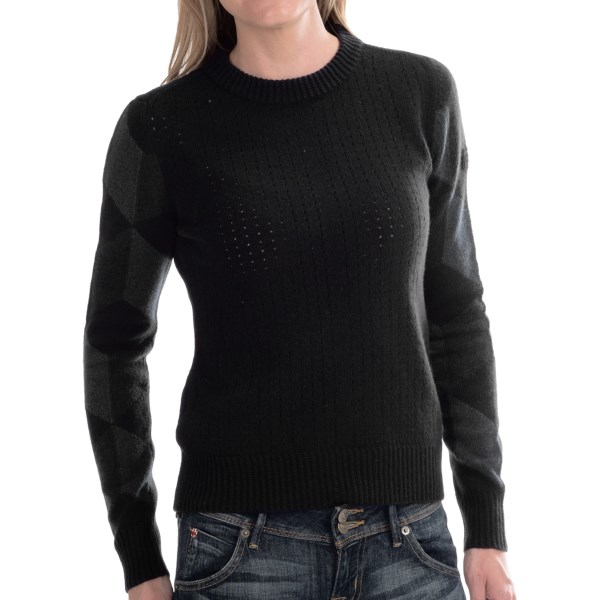 Barbour Grid Lambswool Sweater (for Women)