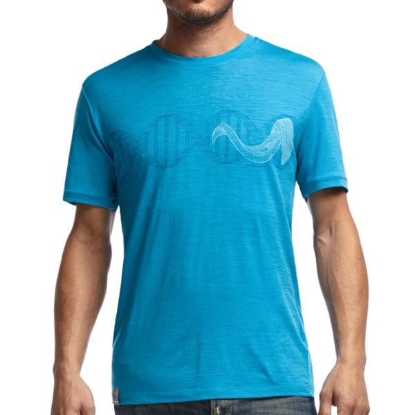 Icebreaker 150 Tech T Lite Horn Shirt - Merino Wool, Upf 30 , Short Sleeve (for Men)
