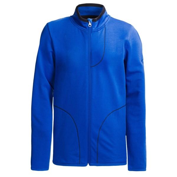 Icebreaker Camper Jacket - Merino Wool, UPF 30  (For Kids)