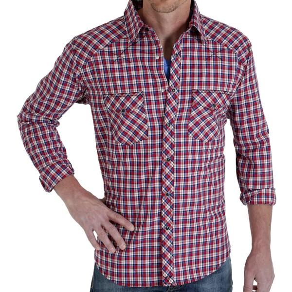 Wrangler 20x Plaid Shirt - Snap Front, Long Sleeve (for Men)