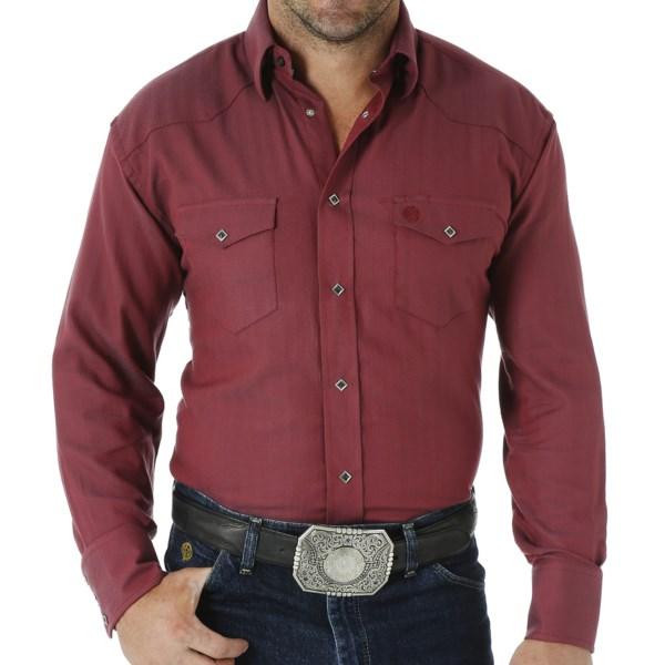 Wrangler George Strait Troubadour Jacquard Shirt - Snap Front, Long Sleeve (For Men)