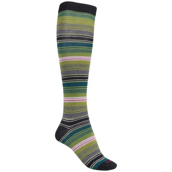 Goodhew Serape Over-the-Calf Socks - Merino Wool Blend, Lightweight (For Women)