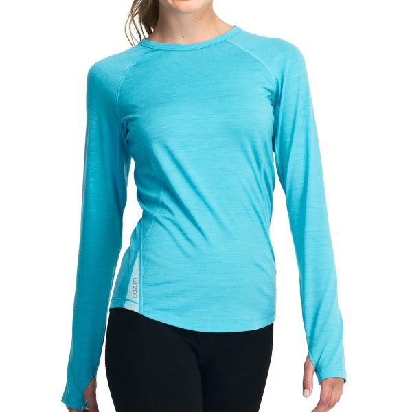 Icebreaker Pace Long Sleeve Crewe