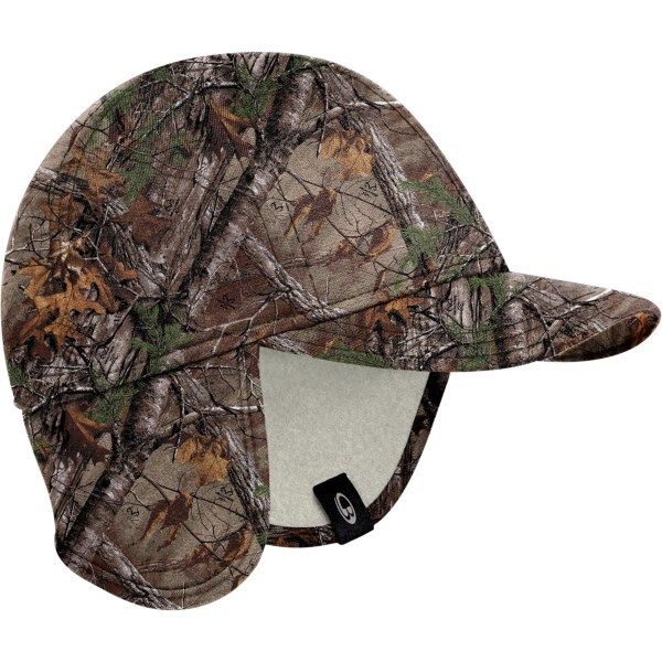 Icebreaker Explore Realtree(R) Hat with Ear Flaps - UPF 20 , Merino Wool (For Men and Women)