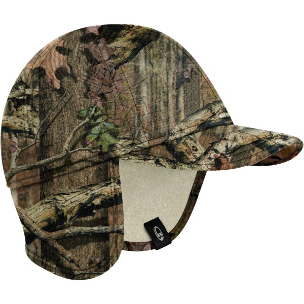 Icebreaker Explore Mossy Oak(r) Hat With Ear Flaps - Upf 20 , Merino Wool (for Men And Women)