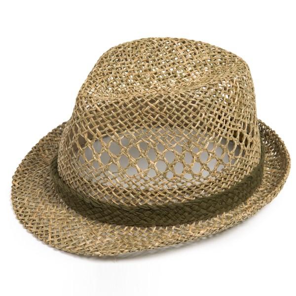 Country Gentleman Dennis Fedora Hat - Straw (For Men)