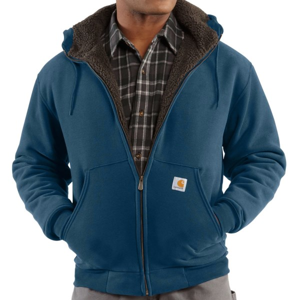 Carhartt Collinston Sweatshirt - Brushed Fleece Sherpa Lining (For Big and Tall Men)