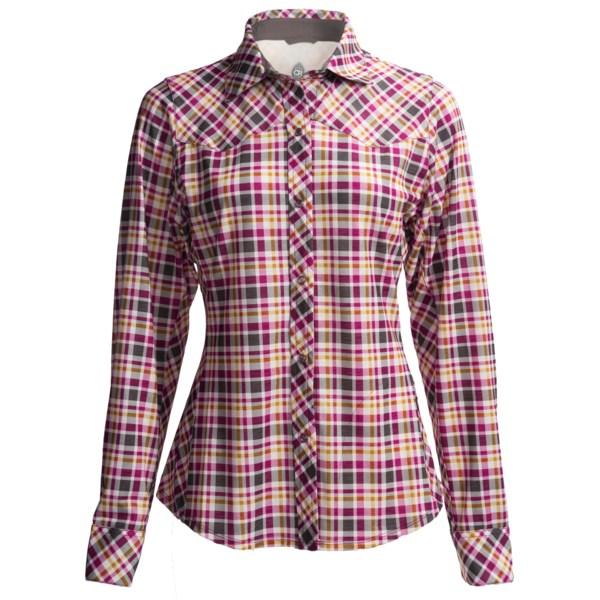Club Ride Jill Cycling Shirt - Snap Front, Long Sleeve (For Women)