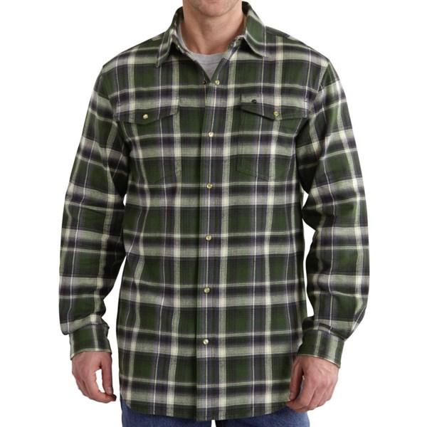 Carhartt Trumbull Flannel Shirt - Long Sleeve (For Men)