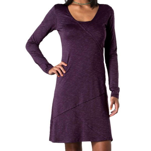 Horny Toad Oblique Dress - TENCEL(R)-Organic Cotton, Long Sleeve (For Women)