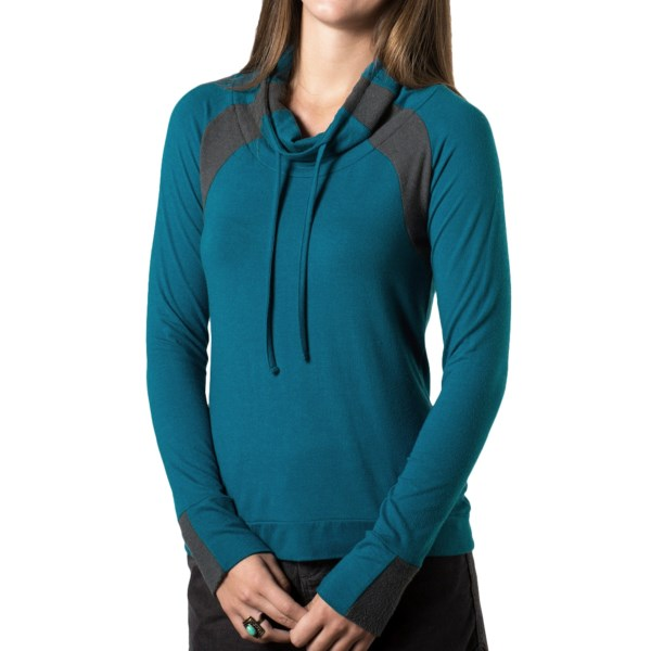 Horny Toad Delphina Tie Neck Shirt - Long Sleeve (For Women)