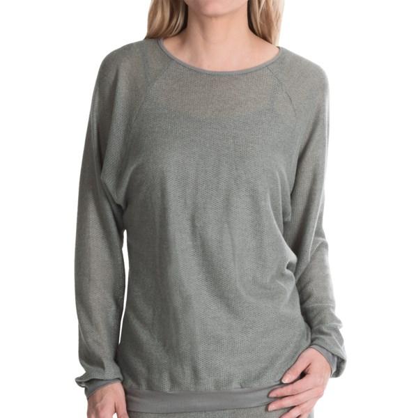 Cosabella Sinsonte Knit Lounge Shirt - Long Sleeve (For Women)