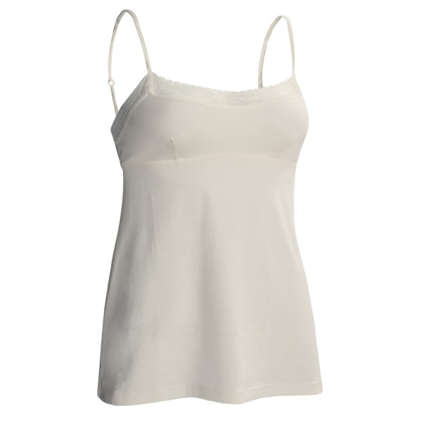 CLOSEOUTS . So pretty and cool to the touch, Cosabellaand#39;s Hortensia camisole is beautifully made from an irresistible blend of pima cotton, known for its extraordinary quality and softness, and silky modal. The lace-trimmed bodice is especially lovely and features bust darts to enhance the fit. Available Colors: IVORY. Sizes: S, M, L.