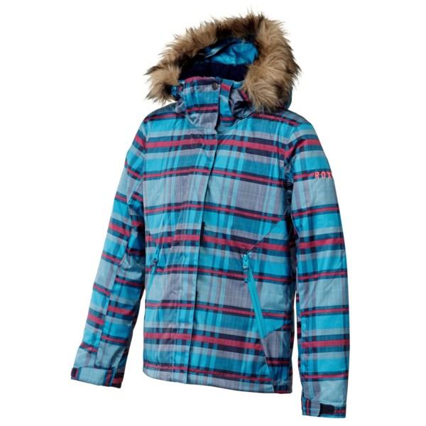 Roxy American Pie Jacket - Waterproof, Insulated (for Girls)
