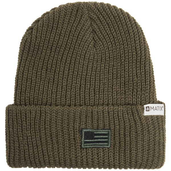 Matix Lincoln Knit Beanie Hat (For Men)