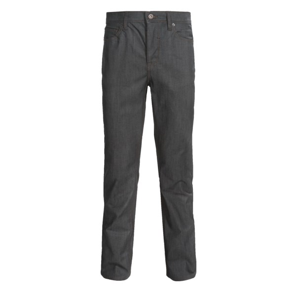 CLOSEOUTS . Up your style game on casual Friday and then hit the town when itand#39;s quitting time in Matixand#39;s Miner denim pants. The premium denim has a crisp look and the classic five-pocket design delivers a vintage touch. Available Colors: BAKED, INKWELL, GREY RAIN.