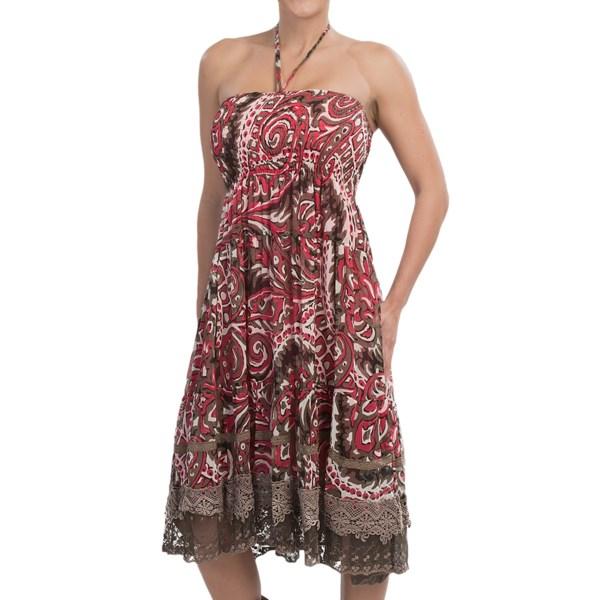 Rancho Estancia Trinity Printed Dress - Convertible, Sleeveless (For Women)