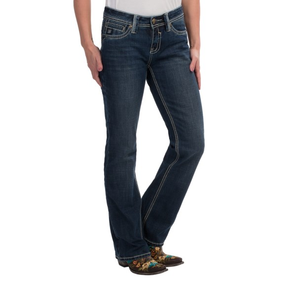 Cowgirl Up Fort Worth Jeans - Mid Rise, Bootcut (for Women)