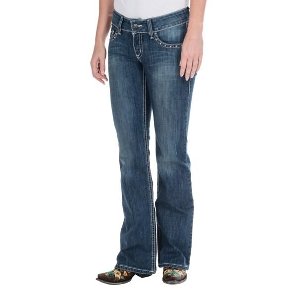 Cruel Girl Layton Slim Fit Jeans - Low Rise, Bootcut (For Women)