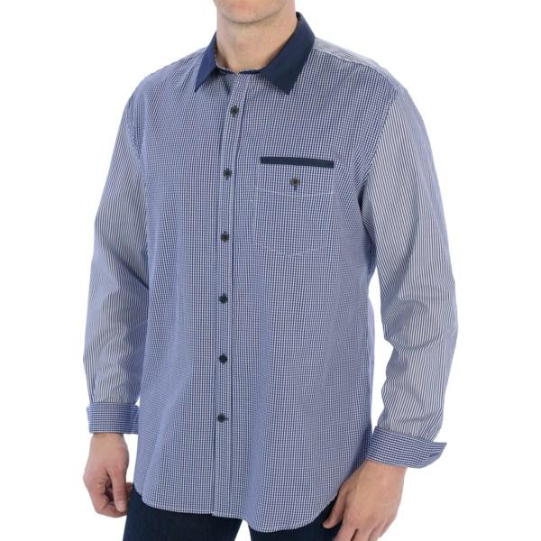 Elie Tahari Steve Cotton Shirt - Long Sleeve (For Men)