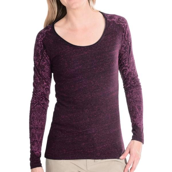 White Sierra Indian Brook Shirt - Long Sleeve (For Women)