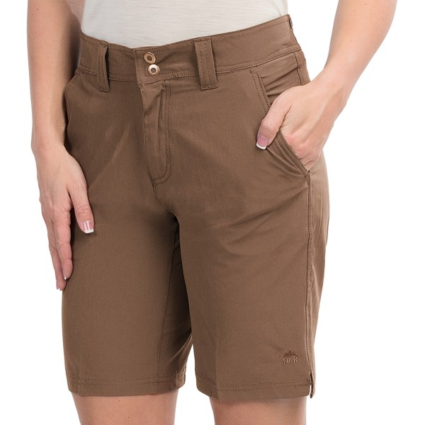 10,000 Feet Above Sea Level 4 Way Stretch Shorts (For Women)