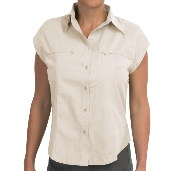 10,000 Feet Above Sea Level Shirt Short Sleeve (For Women)