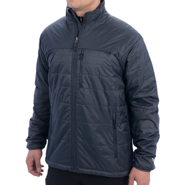 CLOSEOUTS . White Sierraand#39;s Peak packable jacket is a smart choice for chilly weather, with lightweight insulation inside an abrasion-resistant shell that packs into its own pocket. Available Colors: BLACK, STERLING, TITANIUM. Sizes: M, L, XL, 2XL.