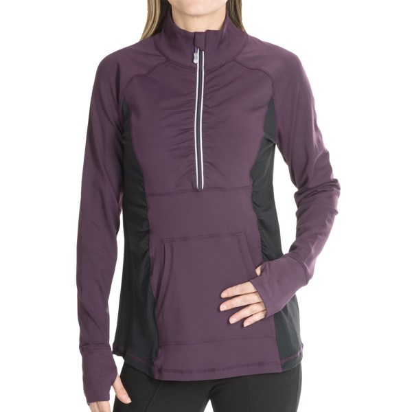 MSP by Miraclesuit Zip Mock Neck Pullover (For Women)