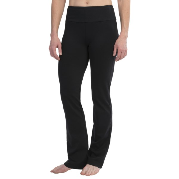 CLOSEOUTS . The sophisticated fabric and fluid fit of MSP by Miraclesuitand#39;s Wear to the Office yoga pants make them suitable for both studio time and office wear -- smoothing over your silhouette without constricting your movement. Available Colors: BLACK. Sizes: XS, S, M, L, XL.
