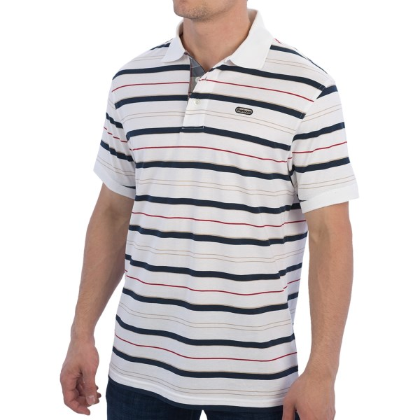 Barbour Bowden Stripe Polo Shirt - Short Sleeve (for Men)