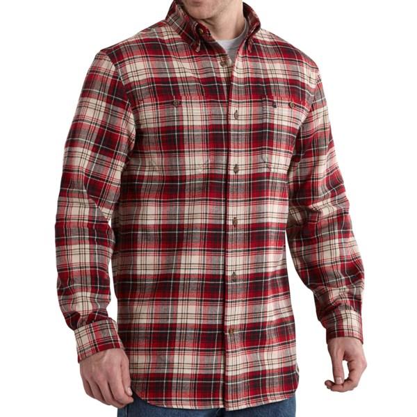 Carhartt Trumbull Flannel Shirt - Button-Down Collar, Long Sleeve (For Men)